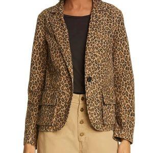 NWT Nili Lotan Nordstrom Addison Leopard Print